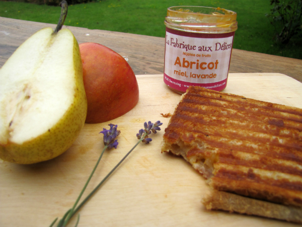 Croque-Monsieur fruit & confiture